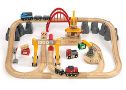 brio järnväg lek