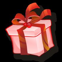 julklappstips present röd 1