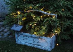 solcellsladdad slinga julen