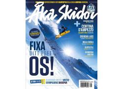 tidning åka skidor