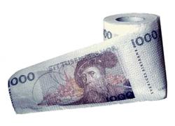 toapapper cash billig klapp