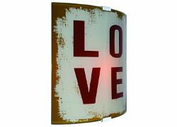 vägglampa love