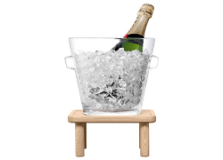 champagne hink nyårsgåva julklapp