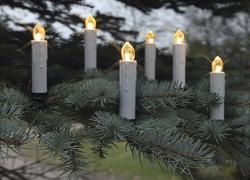 julgransbelysning trådlösa