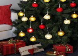 lysande julkulor