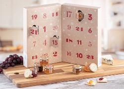 Adventskalender med marmelad