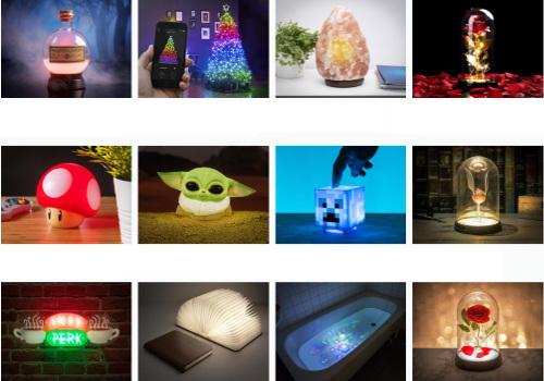 Lampor - Julklappar som lyser upp