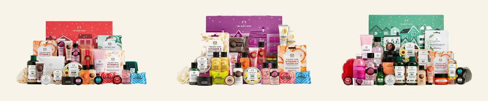 The Body Shop adventskalender & julkalender 2021